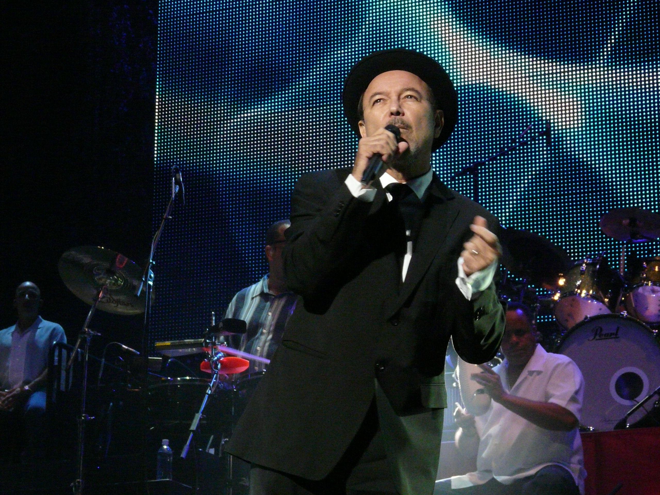 Rubén Blades con Roberto Delgado Salsa Big Band (Panamá)